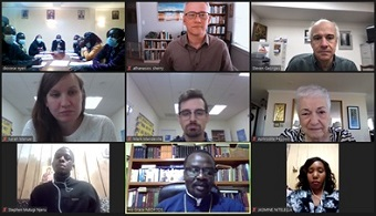 Virtual mission team to Nyeri, Kenya