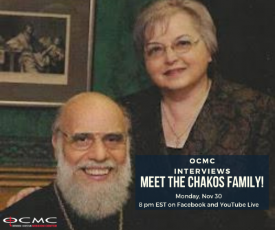 OCMC Interviews: Meet the Chakos Family