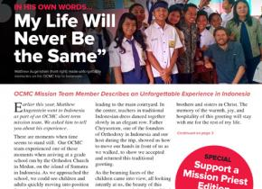OCMC Mission Newsletter Fall 2019