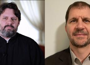 Archdeacon Joseph Matusiak and Jason Sterling