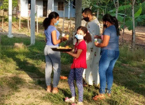 Family in Colombia